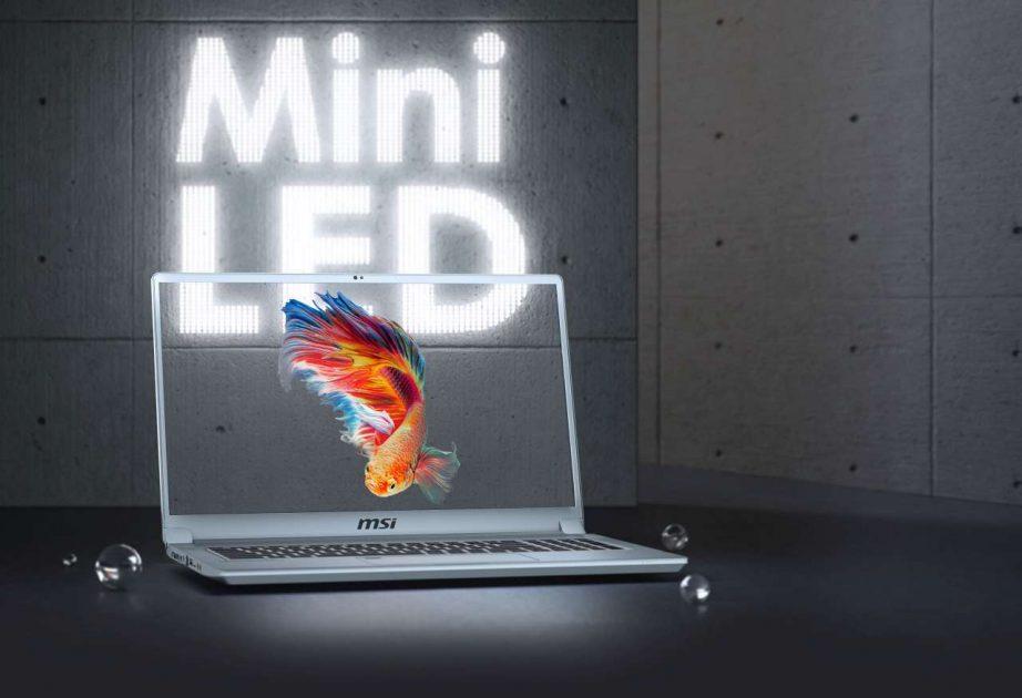 MSI Creator 17 cu panou Mini-LED - primul laptop din lume cu noua tehnologie.