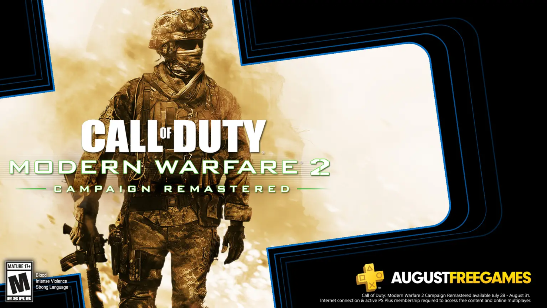Modern Warfare 2 Remastered PlayStation Plus