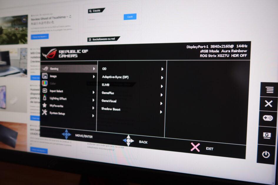 ROG SWIFT XG27UQ GAMING 4K