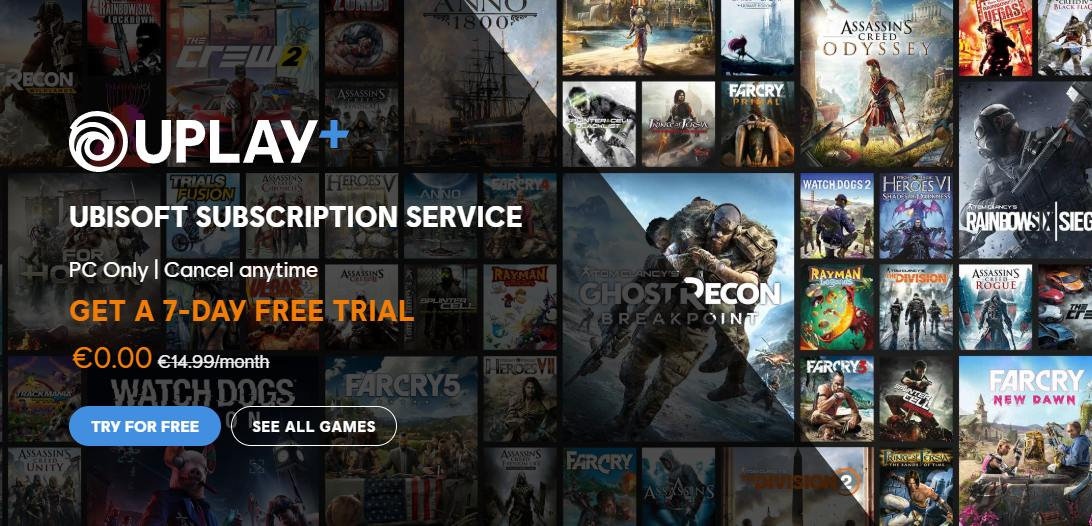 uplay plus gratis