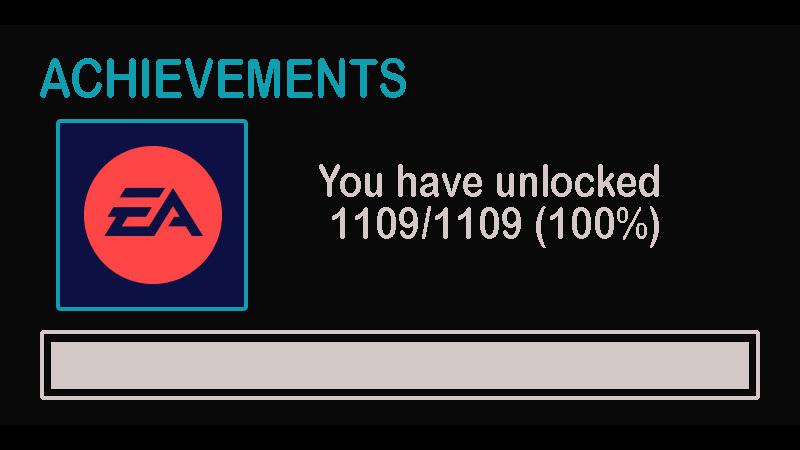 EA Steam Achievements