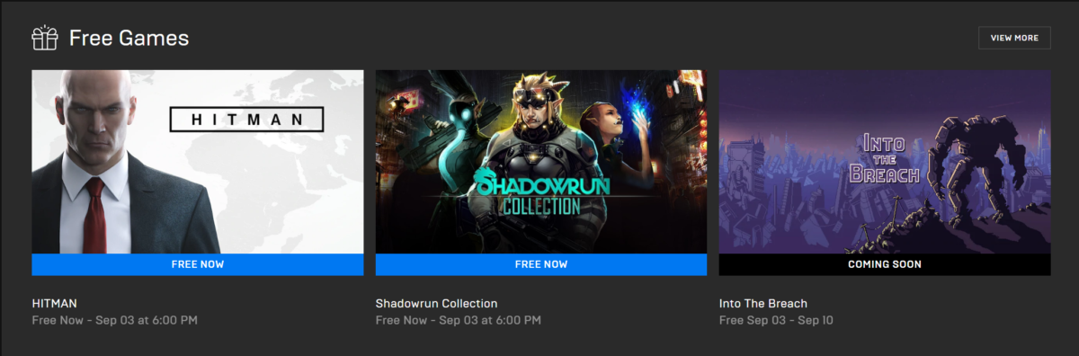 HITMAN Shadowrun Collection Gratuit Epic Games Store