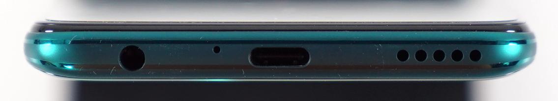 Huawei P40 Lite 5G jack and speaker