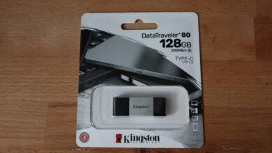 Review Kingston DataTraveler 80