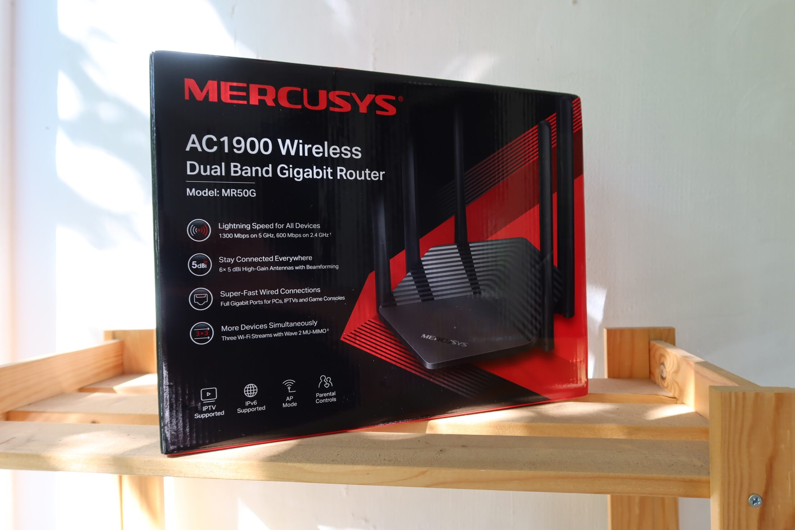 REVIEW MERCUSYS MR50G