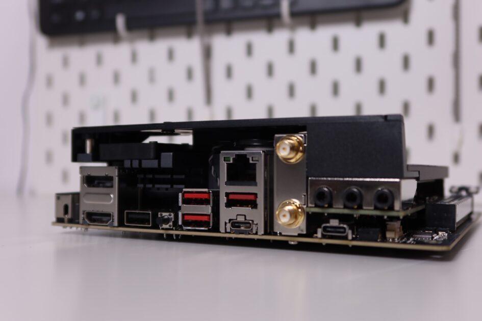 Review ROG STRIX B550I Gaming