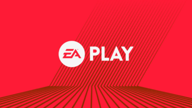EA Play Steam Feature Red White