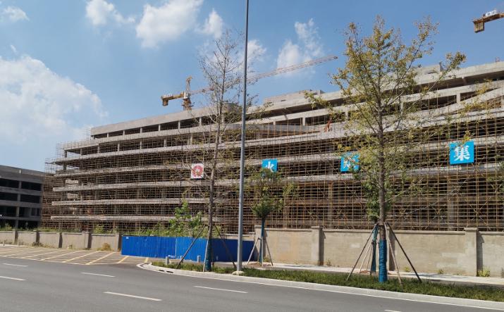 HSMC Wuhan Fabrica Santier