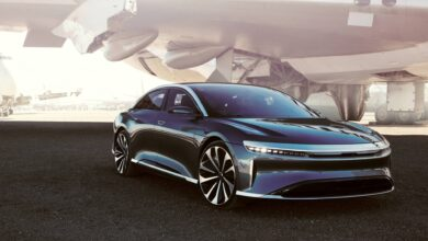 Photo of Lucid Air este un sedan electric de lux, foarte rapid, cu autonomie mare