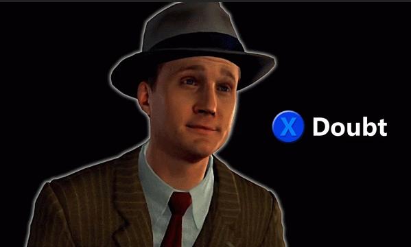 Press X to Doubt Meme