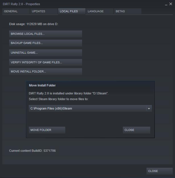 Steam Mutare Jocuri NAS