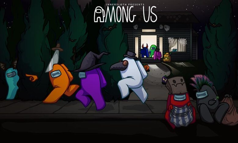 Among Us Halloween Feature