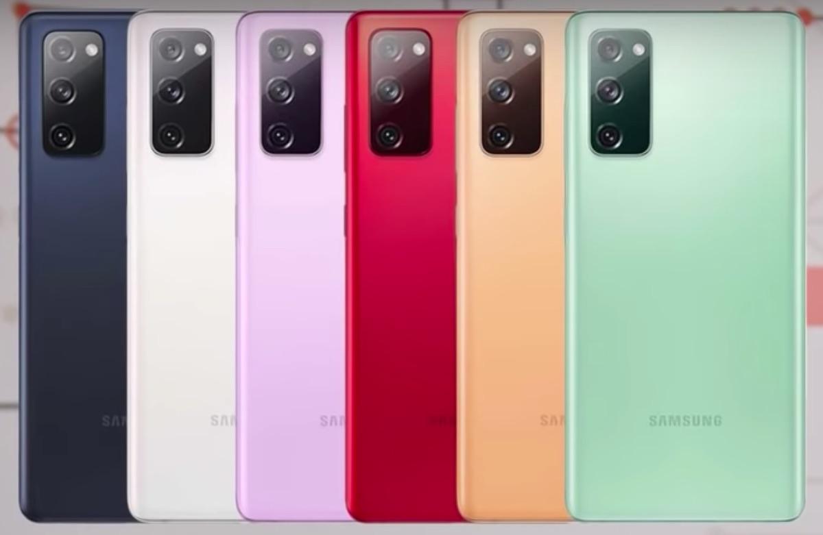 Culori Galaxy S20 FE 5G