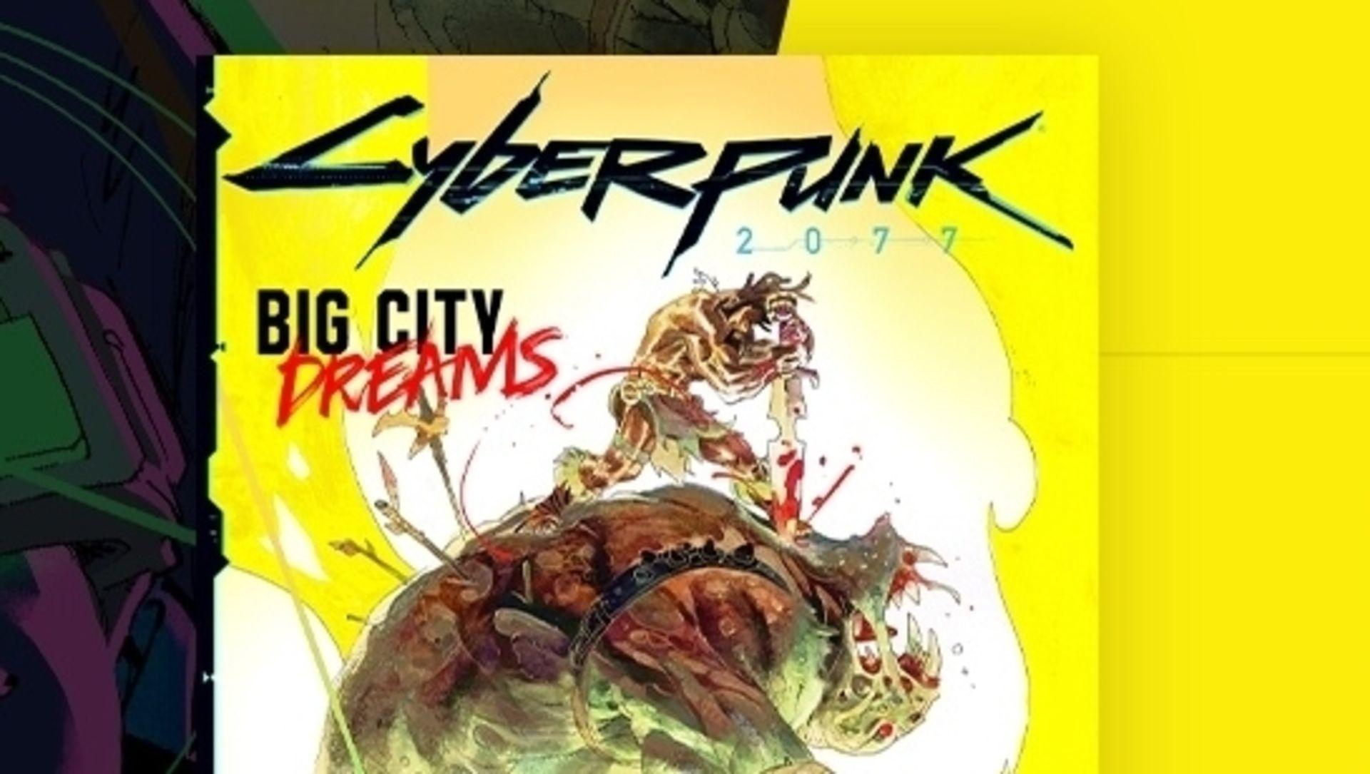 Cyberpunk 2077 digital comic