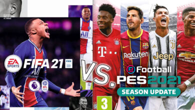 FIFA 21 x eFootball PES 2021 Review