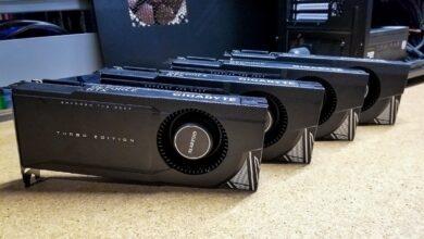 Photo of Cat de puternice sunt patru RTX 3090 in acelasi sistem?