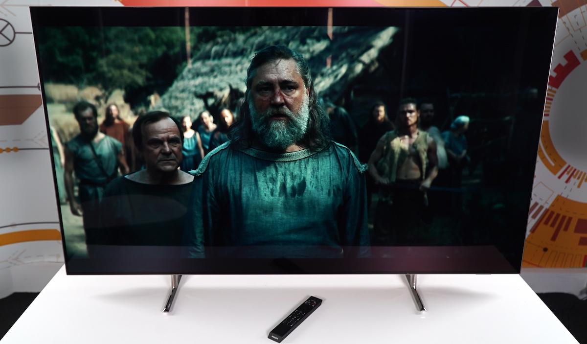 Philips 65OLED805 pe Netflix