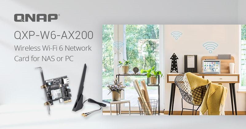 QNAP QXP-W6-AX200 Feature
