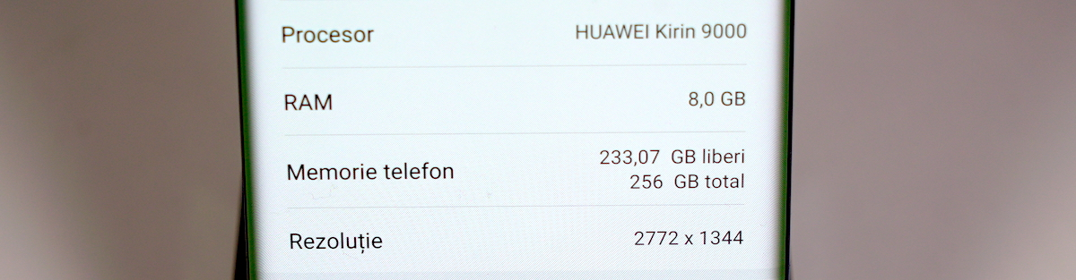 Specificatii Huawei Mate 40 Pro