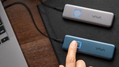 Photo of Acest SSD cu senzor de amprenta iti permite sa porti in buzunar pana la 2TB de date