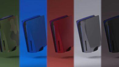 Panouri Laterale PS5