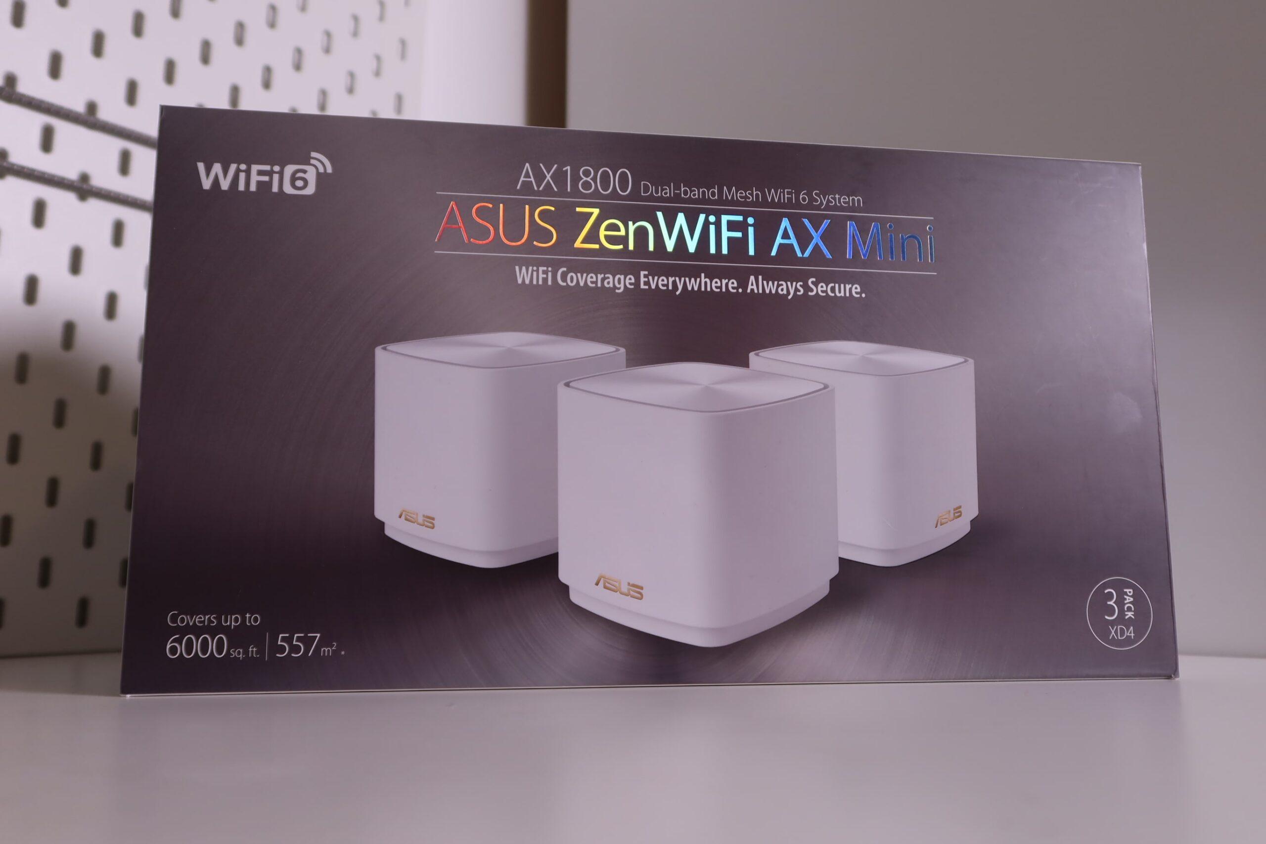 Review ASUS ZenWiFI AX Mini