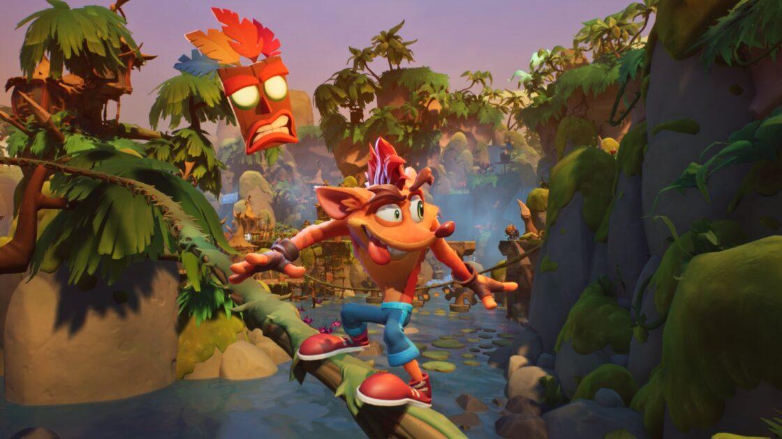 Review Crash Bandicoot 4