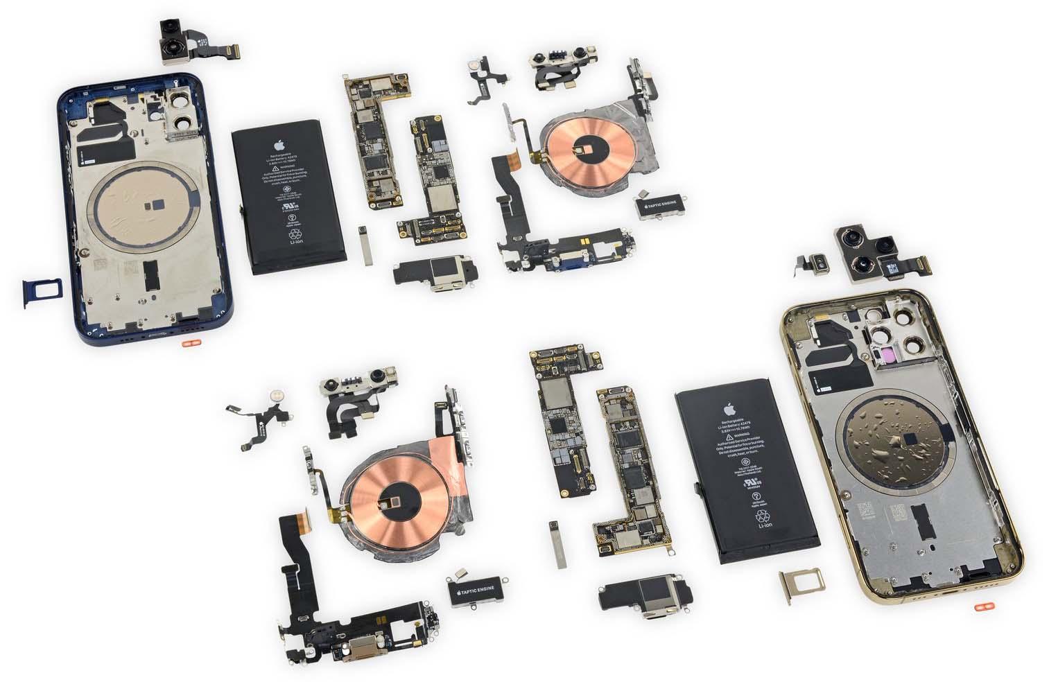 iPhone 12 Pro Dezasamblare iFixit