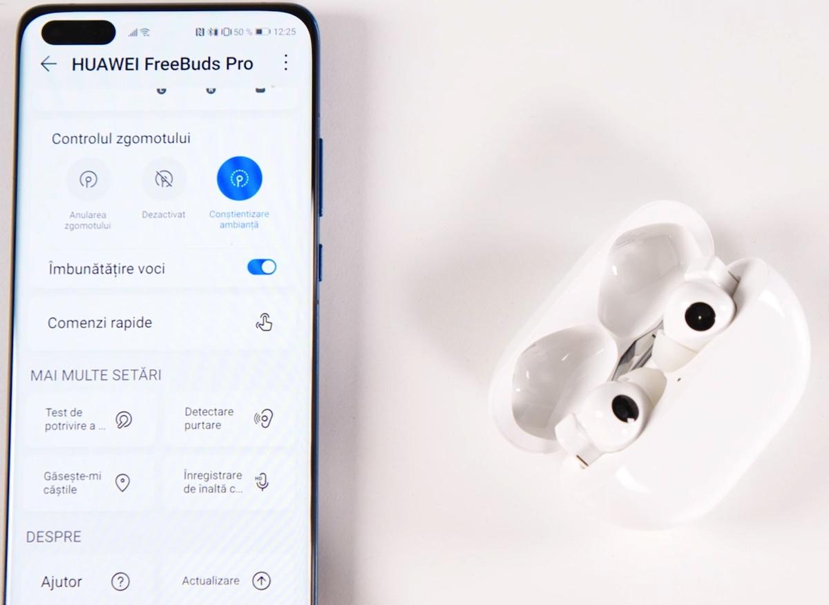 FreeBuds Pro AI Life pe P40 Pro