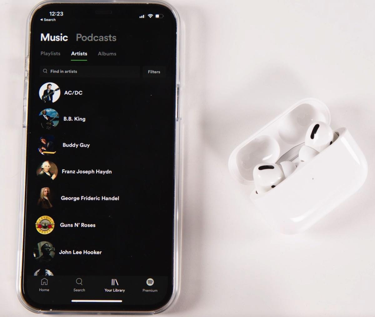 Tidal pe iPhone 12 Pro Max