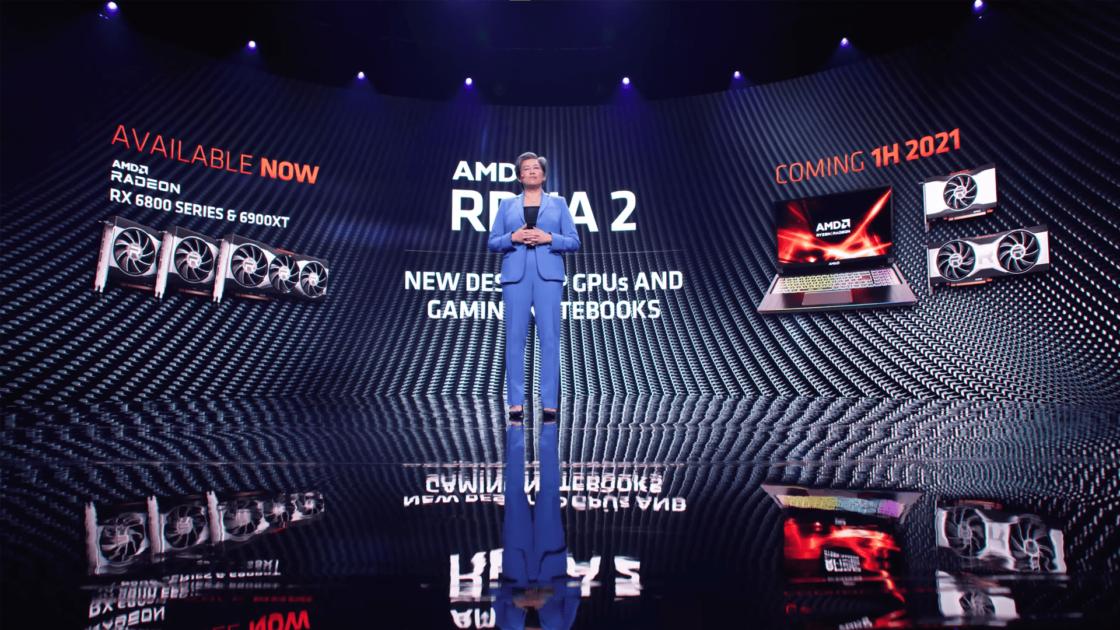 AMD CES 2021 Coming 1H 2021 plăci video