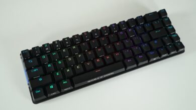 Review ROG Falchion