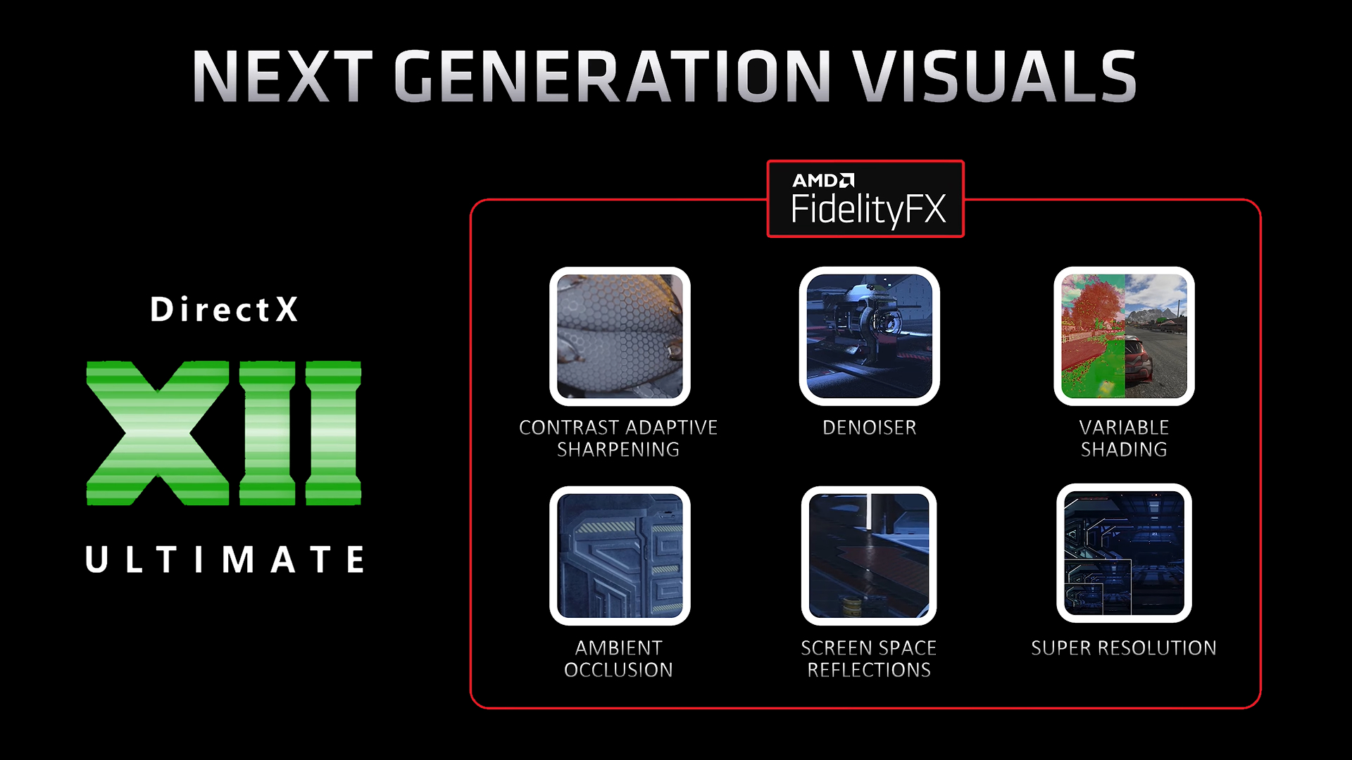 AMD Super Resolution DirectX XII Ultimate