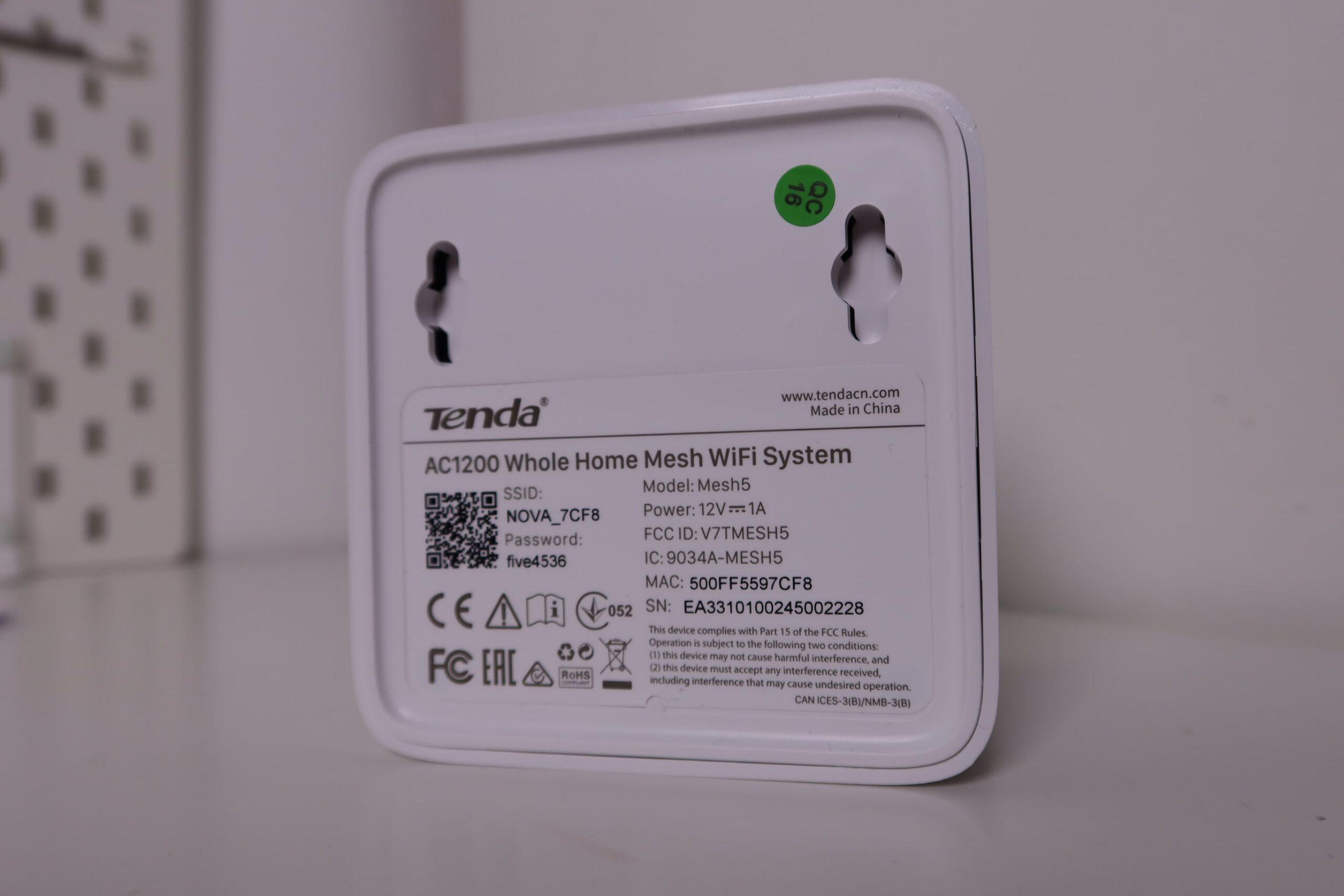Review Tenda Nova MW5c