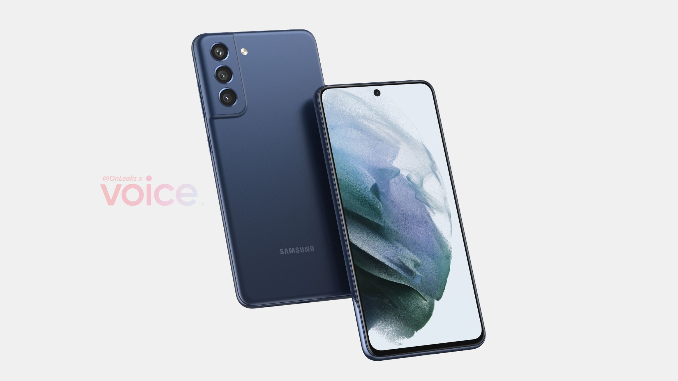 Render Samsung Galaxy S21 FE