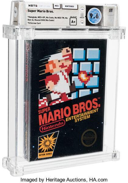 Super Mario Bros. cel mai scump joc din lume