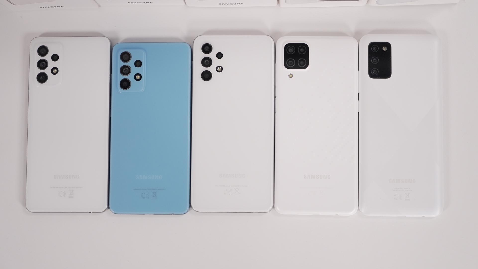 Seria Samsung Galaxy A 2021