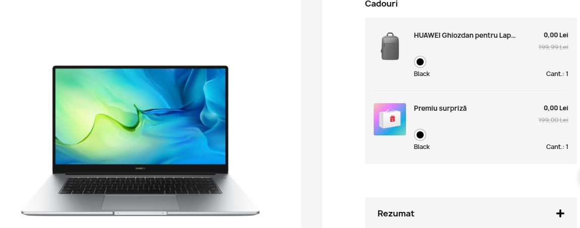 Huawei Online Store produse + cadou