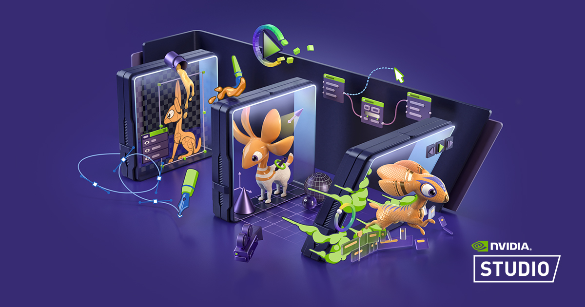 NVIDIA Studio Functionalitati AI placa video