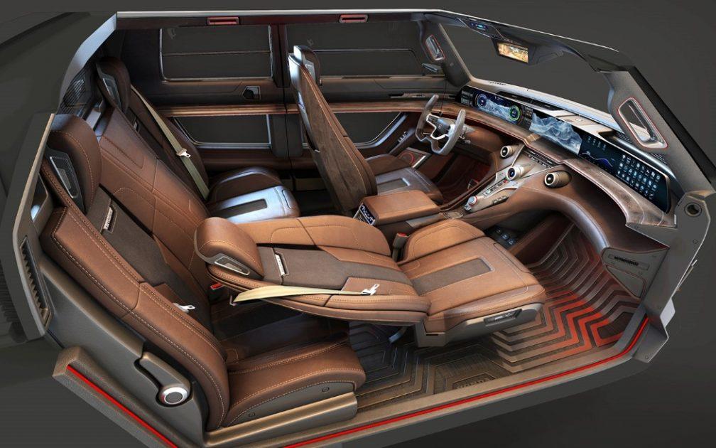 Honda Ridgeline EV Concept