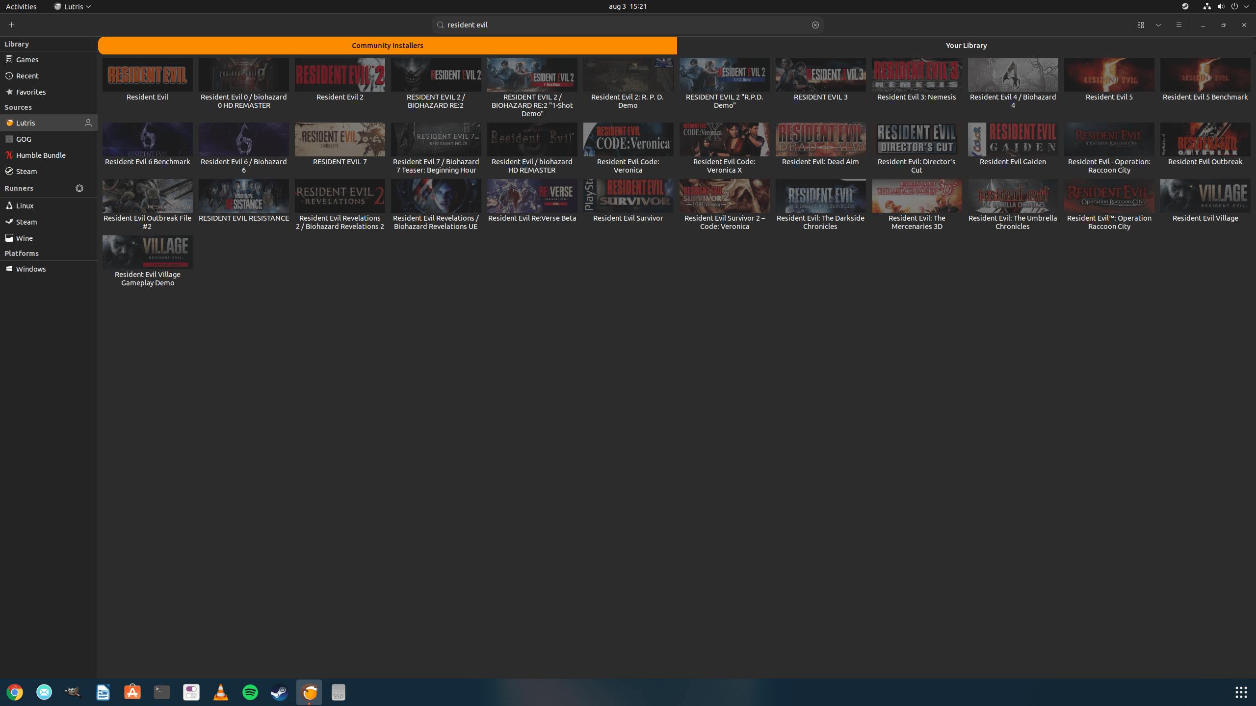 Gaming pe Linux 2021