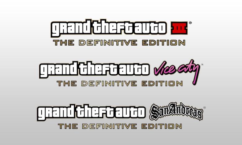 Grand Theft Auto Trilogy Definitive Edition