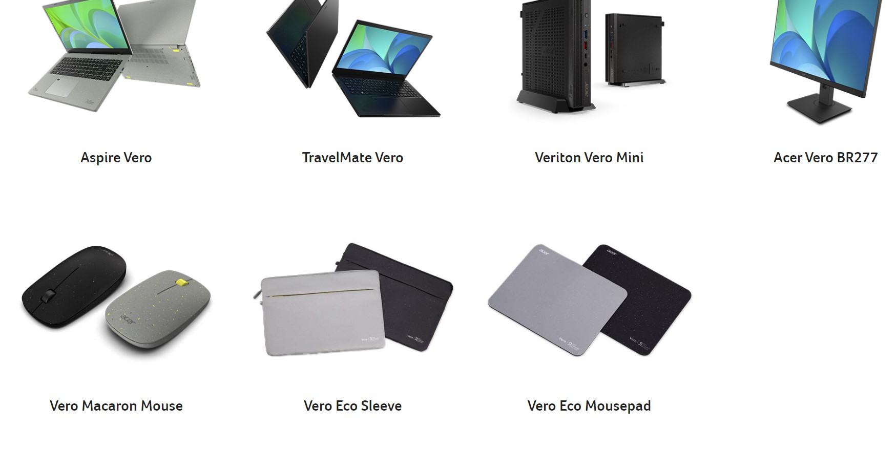 Produse Ecologice Acer