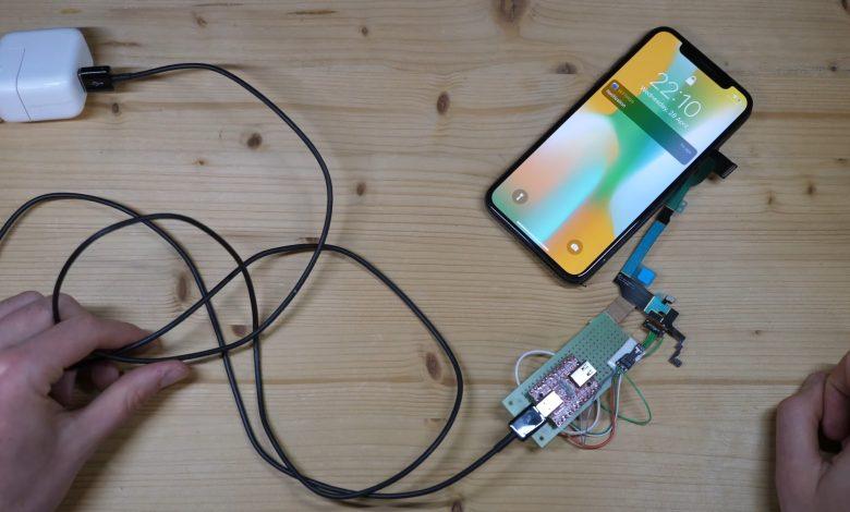 iPhone X USB-C